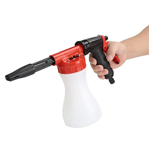 Shanbor Pulverizador de Espuma a presión Botella pulverizadora de Espuma, pulverizador de Limpieza, pulverizador de Espuma para Herramientas de jardín, para Lavado de Coches, Plantas de riego,