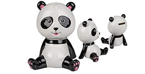 DKT Hucha Oso Panda de cerámica. 16 cm. 1 Unidad