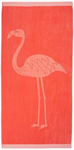 AmazonBasics Flamingo Premium Beach Towels