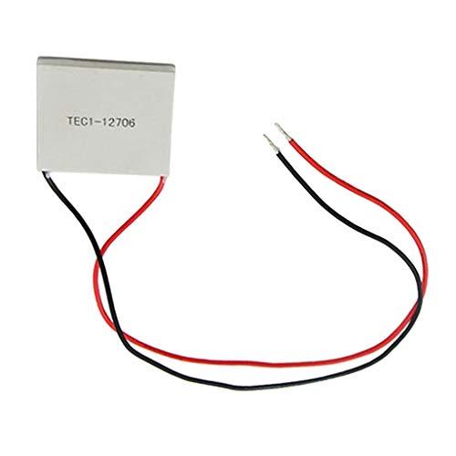 B Baosity DC12V AR Peltierelement Peltier Element TEC für Kühlen Heizen TEC1-12706 Thermoelectric