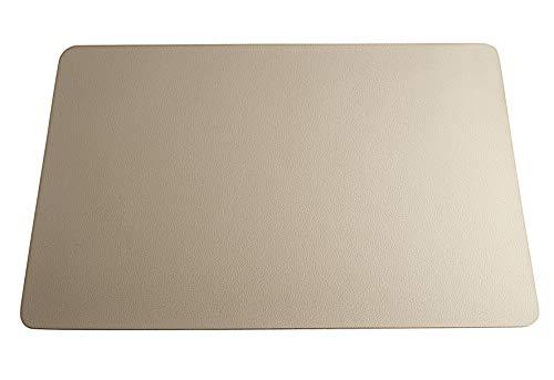 ASA Table Tops Tischset, Kunstleder, Stein-Grau, 46 x 33 cm