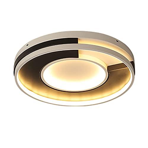 Accesorio de iluminación Luz de techo LED moderna / foco de techo, LED Simple Simple Lámpara de techo redonda ultra delgada Caliente Dormitorio de la personalidad Estudio de la iluminación del techo,