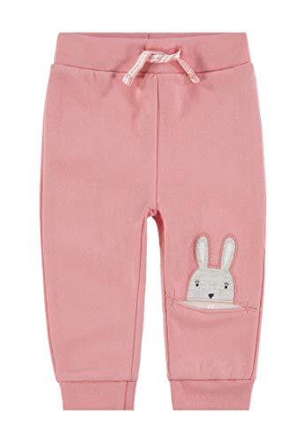 TOM TAILOR Sweat Pants, Bas de survêtement Bébé Fille, Rose (Flamingo Pink 2063), 80 cm
