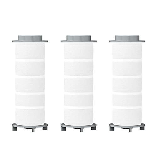 Winbywin シャワーヘッドカートリッジ 交換用 塩素除去 消臭 抗菌 浄水フィルター 3本セット(一年分)