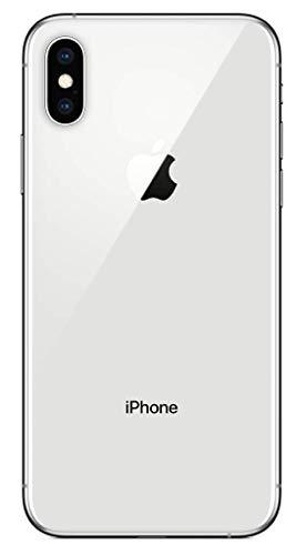 A Apple iPhone XS, 256GB, Prata - totalmente desbloqueado (Renovado)