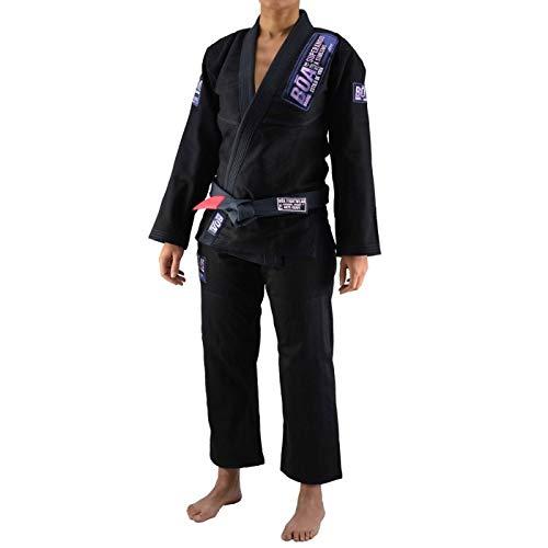 Bõa BJJ Gi Kimono Superando Mujer Negro (Negro, F4)