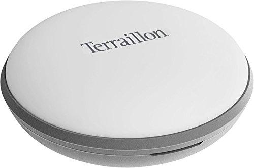 Terraillon Verbindbarer Schlaf-Sensor, Zur Analyse und Überwachung des Schlafs, Eingebauter Speicher, Für Smartphone/Tablet, Bluetooth Smart, Dot