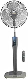 Tornado Stand 4 Blade Gray Remote Fan