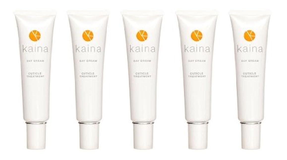 フォアマン歌詞透ける【5本セット】kaina BNK-001 デイクリーム 爪用保湿クリーム 毎日のツメのケアに