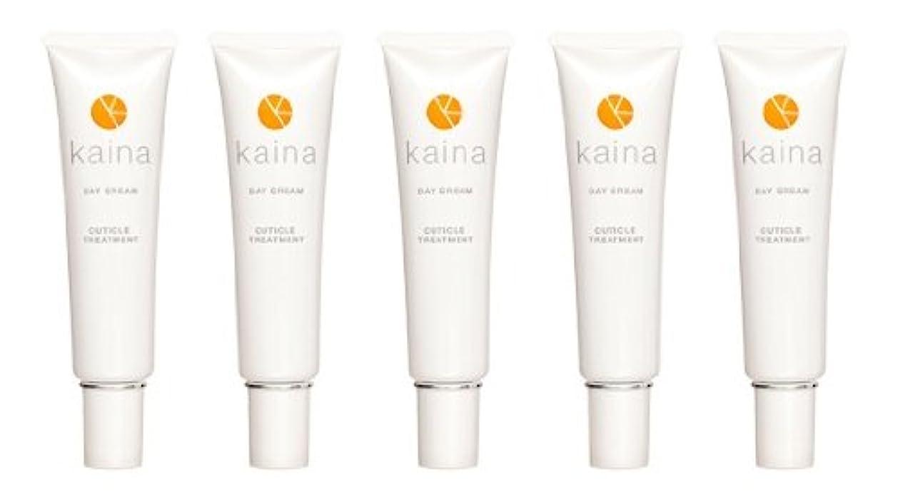 便宜一月扱う【5本セット】kaina BNK-001 デイクリーム 爪用保湿クリーム 毎日のツメのケアに
