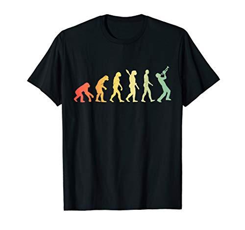 Evolution Trompete Geschenk T-Shirt