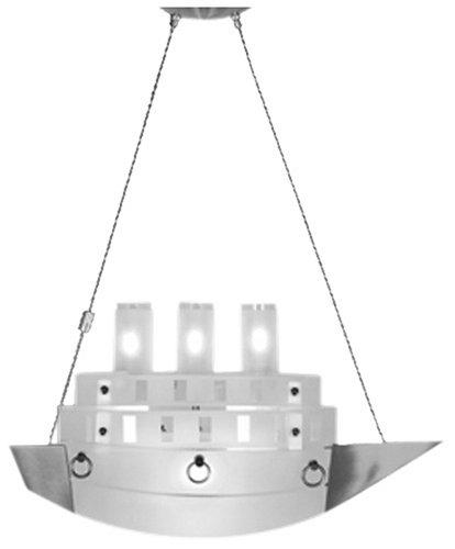 Aanhanger schip lamp 3 x G9 40 Watt halogeen en 1 x 100 Watt halogeenlampen