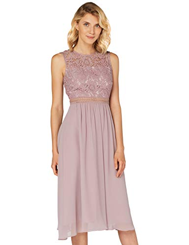 Amazon-Marke: TRUTH & Fable Damen brautkleid, Lila (Qual Lilac), 36, Label:S