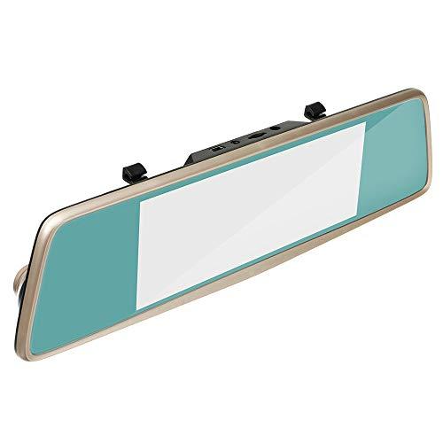 XGao Best Dash Cam Dual Lens Rear View Mirror Car Backup Front Rear 1080P Full HD Video Dual Dash Cam with 720P Backup Camera Recorder Car DVR G-Sensor Motion Detection Loop Recording Park (Black)