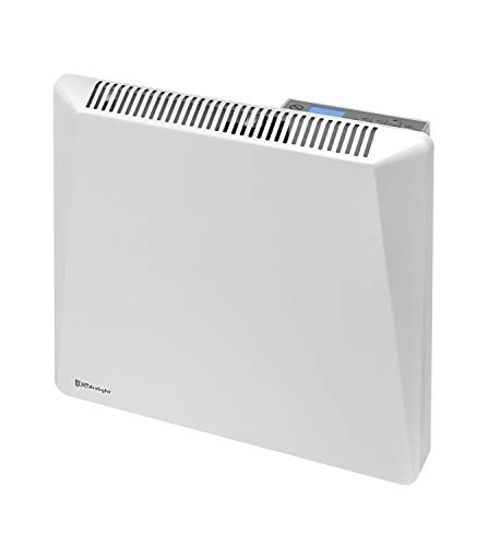 Radialight Sirio Termoconvettore Elettrico Portatile Basso Consumo Controllo Digitale Temperatura Programmabile Eco Stufa Riscaldatore a Risparmio Energetico Protezione Umidità IP24 500W