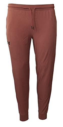 Under Armour Men's UA Sportstyle Storm Elite Joggers Pants (Cinna Red, Large)