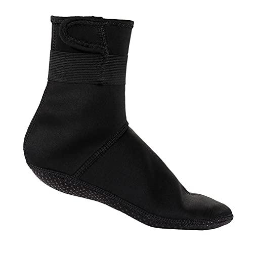 Calcetines Para Zapatos De Agua Calcetines De Buceo De Neopreno De 3 Mm Zapatos Botas De Agua Botas De Playa Antideslizantes Zapatos De Neopreno Calentamiento Snorkel Buceo Calcetines De Surf Para Adu
