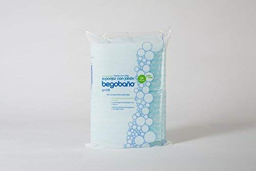 Esponja jabonosa un Solo Uso BB1 100g/m2 12x20cm .10pack de 24u (240u)