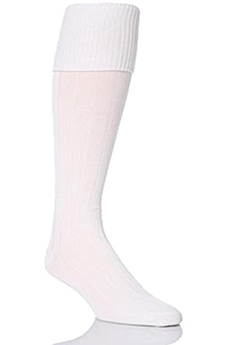 Youths Boys Peter Shilton Football Socks - White - UK 4-6