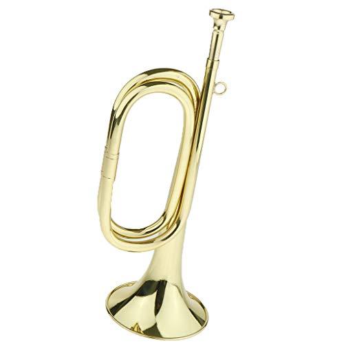 1x Brass Trumpet Instrument per Tromba della Tassa,tromba Dell'esercito Professionale, Tromba del Passo, Tromba della Banda Militare