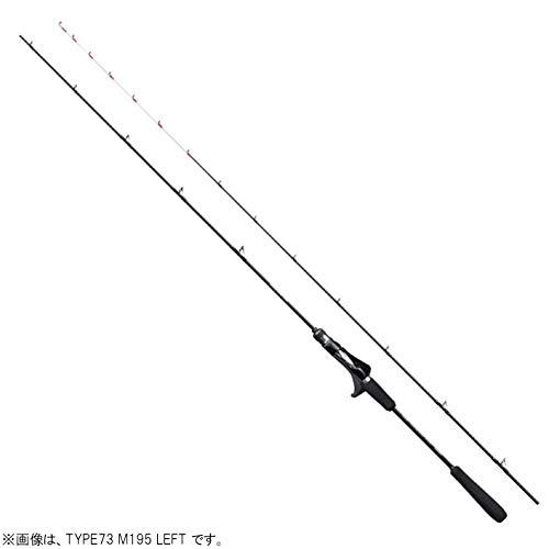 シマノ(SHIMANO) 船竿 20 エキサイトゲーム CI4+ TYPE73 M195 LEFT(左巻) マダイ イサキ アジ タチウオ ヒラメ マルイカ カサゴ メバル 鯛ラバ