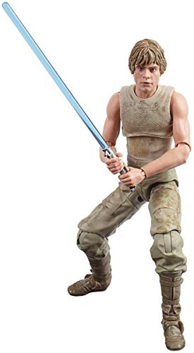 Star Wars- Black Series 40Th Aniversario Figura Luke Skywalker Dagobah (Hasbro E80845X0)
