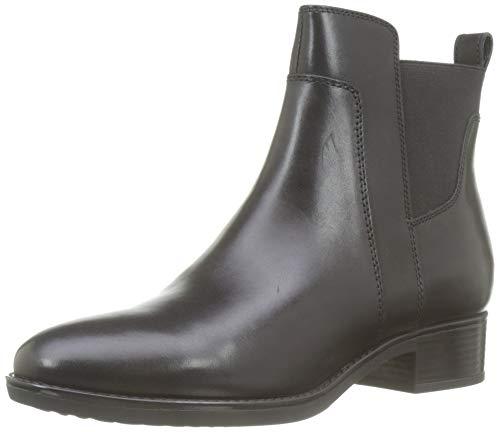 Geox Femme D Felicity G Chelsea Boot, Noir Black C9999, 37 EU