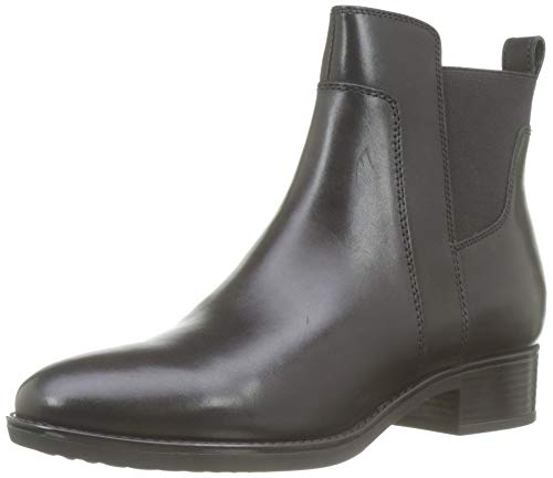 Geox Damen D Felicity G Equestrian Boot, Black, 39.5 EU