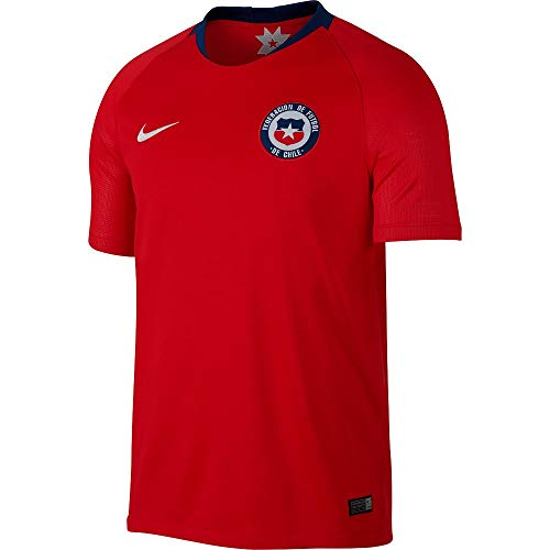 Nike Chi M BRT stad JSY SS HM, Top Kurzarm kein Genre M Chile Rosso/Bianco
