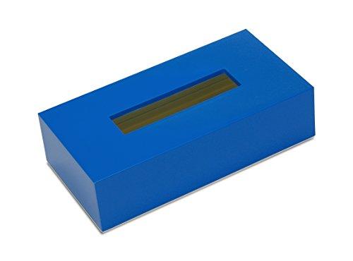 橋本達之助工芸 ティッシュボックス カラー ブルー 1コ入