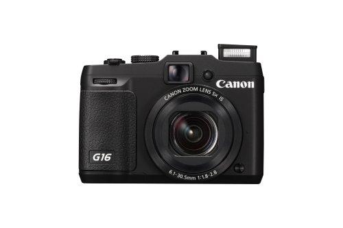 Canon PowerShot G16 EU18 Fotocamera Compatta