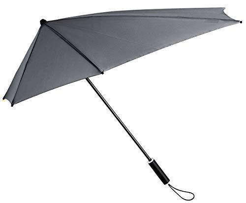 Impliva Storm Maximanual - Paraguas (100 cm), Color Gris