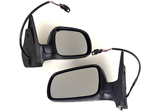 Spiegel Außenspiegel links + rechts SET von Pro!Carpentis kompatibel mit Golf 4 und Bora 1997-2005 elektrisch verstellbar beheizbar schwarz