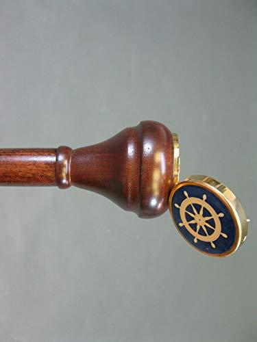 wandelstok wandelstok wandelstok kostbaar hout kapiteinstok 95 cm Walking Stick geheim vak