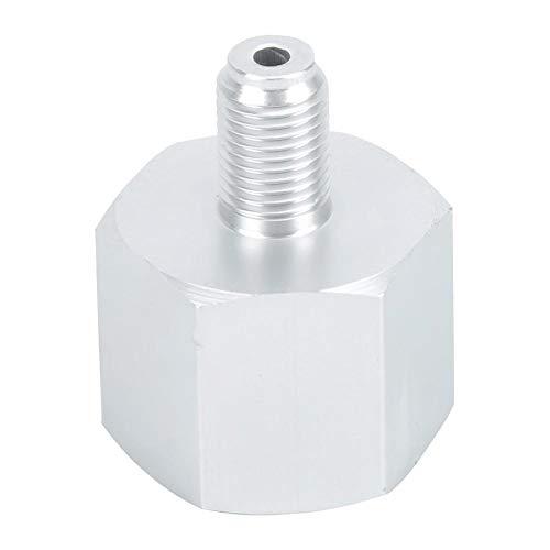 Duokon Adaptador de regulador de CO2, Adaptador de Cilindro de Aluminio CO2 Conector Convertidor Adaptador para Homebrew Beer Aquarium, 3/8 a W21.8, 3/8 a CGA320 (3/8 a W21.8)