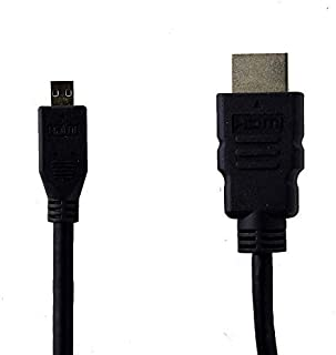 Micro USB to HDMI High Speed Cable AWM Style 20276 30V VW-1 APBG 3-4ft (Renewed)