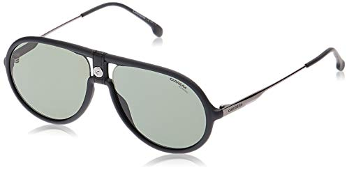 Carrera Sport 1020/S Gafas, MATT BLACK/GN VERDE, 60 Adultos Unisex