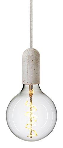 Nud Collection CTT051 Base Support de Lampe Concrète Rhinocéros