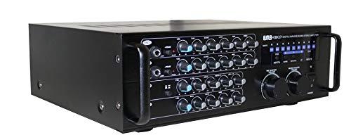 of pylepro karaoke mixers EMB Pro 700-watt Digital Karaoke Mixer Stereo Amplifier EBK37