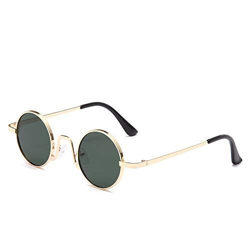 Gafas de Sol Gafas De Sol con Montura Redonda Pequeña Vintage para Mujer, Gafas De Sol De Marca, Gafas De Diseñador De Lujo para Mujer 5