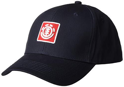 Element Herren Snapback-Kappe Treelogo - Snapback-Kappe für Männer, Eclipse Navy, One Size, U5CTB8