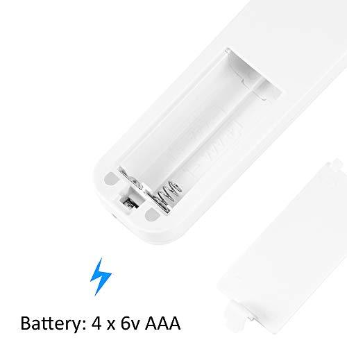 FORNORM - Lampada UV pieghevole per sterilizzazione germinale, sterilizzatore automatico UV per viaggi in albergo, alimentazione USB a batteria