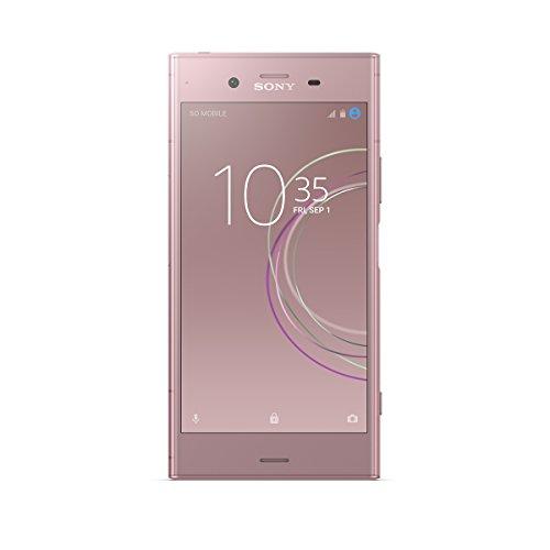 "Sony Xperia XZ1 - Smartphone de 5.2"" (Bluetooth, Octa Core Snapdragon 835, 4 GB de RAM, memoria interna de 64 GB, cámara de 19 MP, Android), Rosa"
