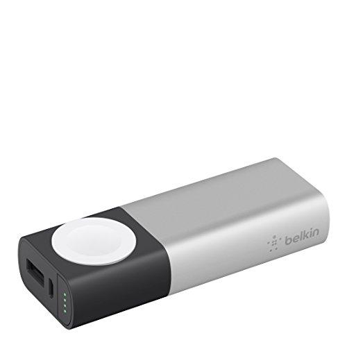 Belkin Valet Charger 6700 mAh Powerbank + Ladegerät (geeignet für Apple Watch Series 5, 4, 3, 2, 1, iPhone 11, 11 Pro/Pro Max, XS, XS Max, XR, X, SE und andere Geräte)