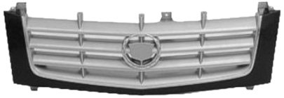 Sherman Replacement Part Compatible with Cadillac Escalade Grille Assembly (Partslink Number GM1200509)