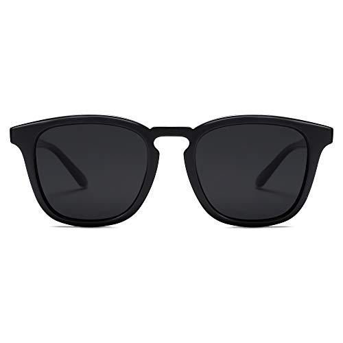 SOJOS Gafas de sol polarizadas para mujeres y hombres clásicos estilo vintage sombras SJ2155