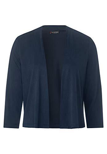 Street One 314825 Suéter cárdigan, Azul Profundo, 46 para Mujer