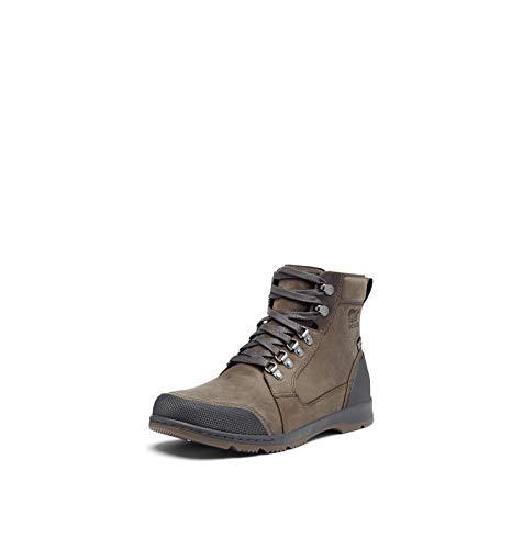 SOREL Men's Ankeny II Mid Boot — Major — Waterproof Leather Rain Boot — Size 11