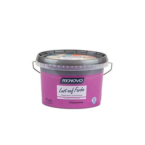 Trendfarbe Pflaumenmus 1 L Renovo Lust auf Farbe - Wandfarbe Deckenfarbe