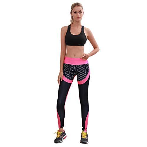 RODMA Leggings de Yoga para Mujer Fitness Deportes Ejercicio Running Pantalones para Trotar